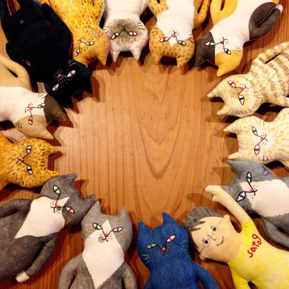 ちびトコSatokoのうた種・展示会、ありがとうございました